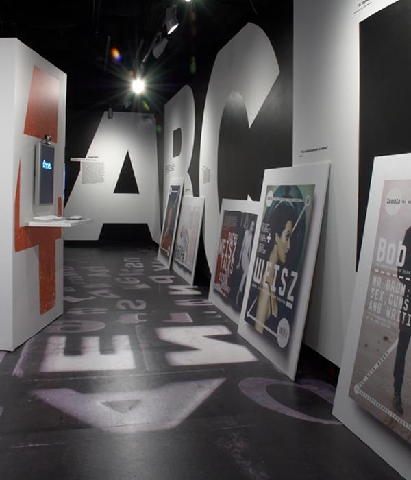 Frostbite exhibition installation, 2006