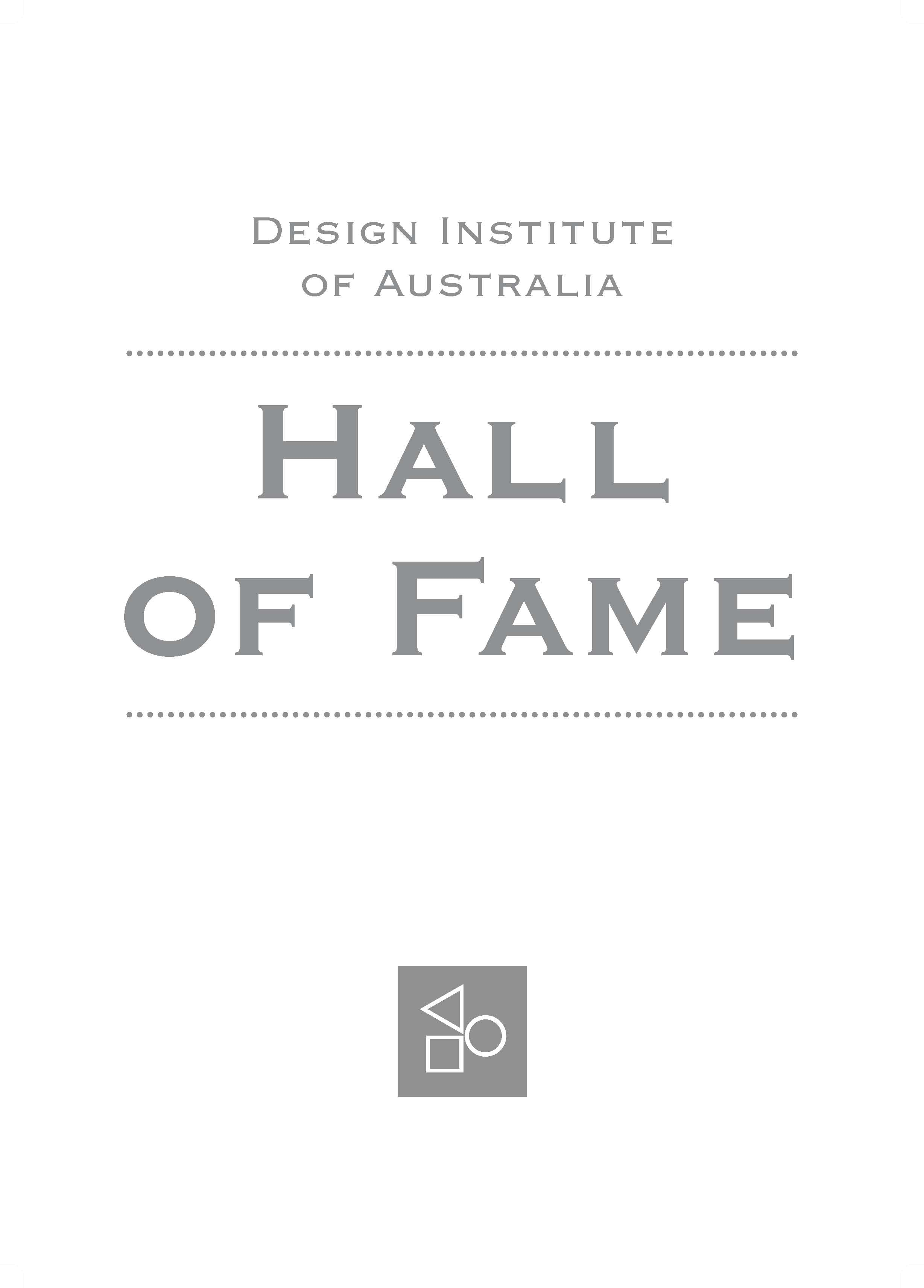 DIA Design Hall of Fame