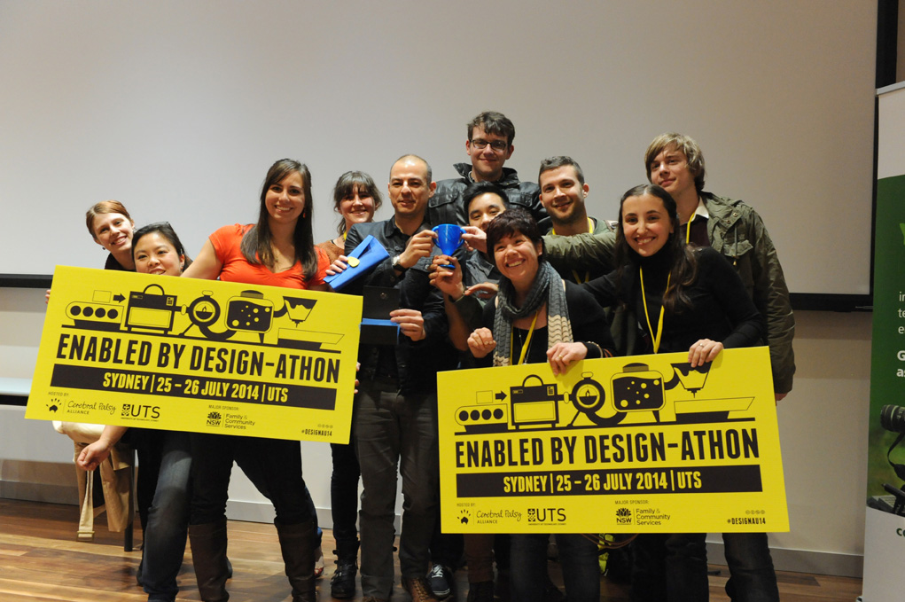 Enabled by Design-athon  24-25 July 2014, Sydney